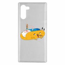 Чехол для Samsung Note 10 Adventure time 4