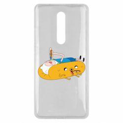 Чехол для Xiaomi Mi9T Adventure time 4