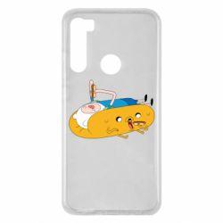 Чехол для Xiaomi Redmi Note 8 Adventure time 4