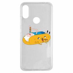 Чехол для Xiaomi Redmi Note 7 Adventure time 4