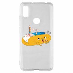 Чехол для Xiaomi Redmi S2 Adventure time 4