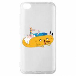 Чехол для Xiaomi Redmi Go Adventure time 4