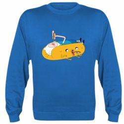 Реглан (свитшот) Adventure time 4