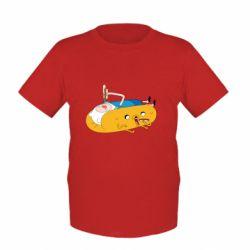Детская футболка Adventure time 4