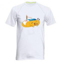Мужская спортивная футболка Adventure time 4