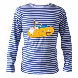 Тельняшка с длинным рукавом Adventure time 4