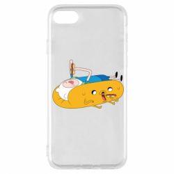 Чехол для iPhone 7 Adventure time 4