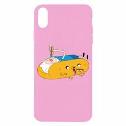 Чехол для iPhone X/Xs Adventure time 4