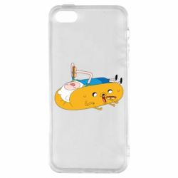 Чехол для iPhone5/5S/SE Adventure time 4