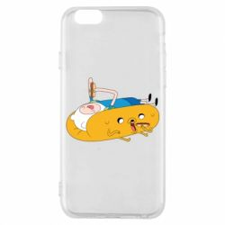 Чехол для iPhone 6/6S Adventure time 4