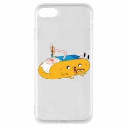 Чехол для iPhone 8 Adventure time 4