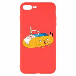 Чехол для iPhone 8 Plus Adventure time 4