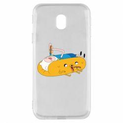 Чехол для Samsung J3 2017 Adventure time 4