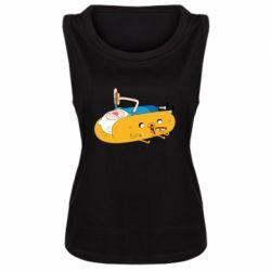 Женская майка Adventure time 4