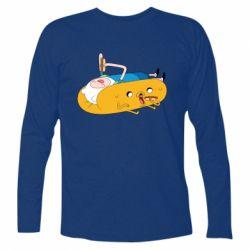 Футболка с длинным рукавом Adventure time 4