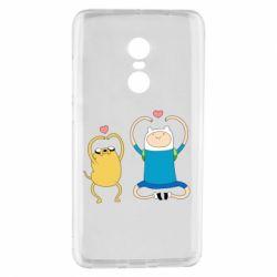 Чехол для Xiaomi Redmi Note 4 Adventure time