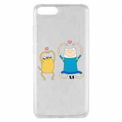 Чехол для Xiaomi Mi Note 3 Adventure time