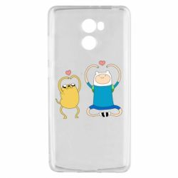 Чехол для Xiaomi Redmi 4 Adventure time