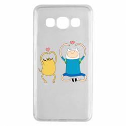 Чохол для Samsung A3 2015 Adventure time