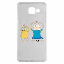 Чохол для Samsung A5 2016 Adventure time