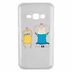 Чохол для Samsung J1 2016 Adventure time