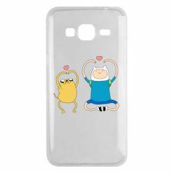Чохол для Samsung J3 2016 Adventure time