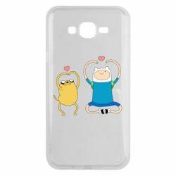 Чохол для Samsung J7 2015 Adventure time