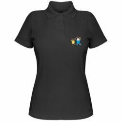 Жіноча футболка поло Adventure time
