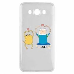 Чохол для Samsung J7 2016 Adventure time
