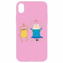 Чохол для iPhone XR Adventure time