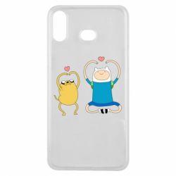 Чохол для Samsung A6s Adventure time
