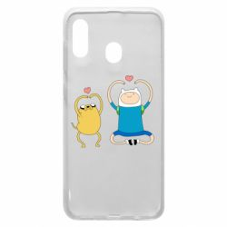 Чохол для Samsung A20 Adventure time
