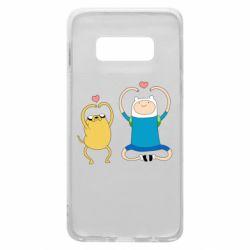 Чохол для Samsung S10e Adventure time