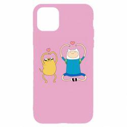 Чохол для iPhone 11 Adventure time