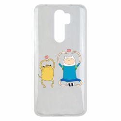 Чехол для Xiaomi Redmi Note 8 Pro Adventure time