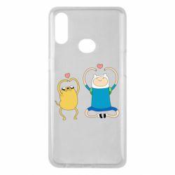 Чохол для Samsung A10s Adventure time