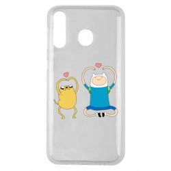Чохол для Samsung M30 Adventure time