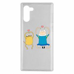 Чохол для Samsung Note 10 Adventure time