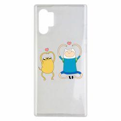Чохол для Samsung Note 10 Plus Adventure time