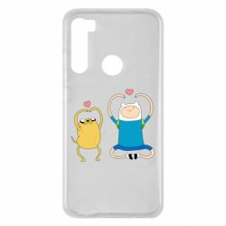 Чехол для Xiaomi Redmi Note 8 Adventure time