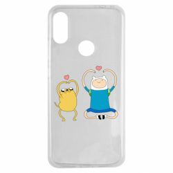 Чехол для Xiaomi Redmi Note 7 Adventure time