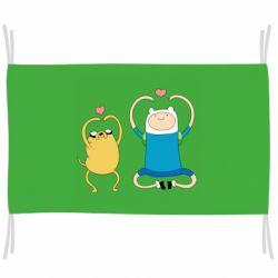 Прапор Adventure time