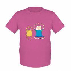 Дитяча футболка Adventure time