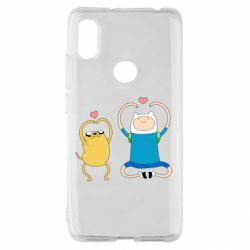 Чехол для Xiaomi Redmi S2 Adventure time