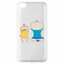 Чехол для Xiaomi Redmi Go Adventure time