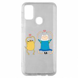 Чохол для Samsung M30s Adventure time