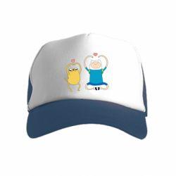 Дитяча кепка-тракер Adventure time