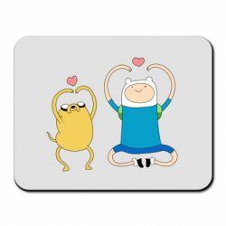 Килимок для миші Adventure time
