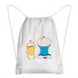 Рюкзак-мішок Adventure time