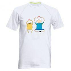 Чоловіча спортивна футболка Adventure time